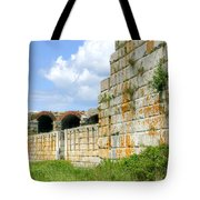 Fort Popham In Phippsburg Maine Tote Bag