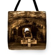 Fort Sumter Famous Cannon Tote Bag by Optical Playground By MP Ray