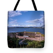 Fort Wadsworth Tote Bag
