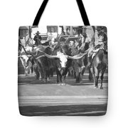 Fort Worth Herd Cattle Drive Tote Bag