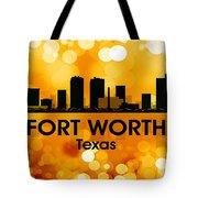 Fort Worth Tx 3 Tote Bag