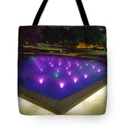 Fort Worth Water Garden Aerated Pool Tote Bag