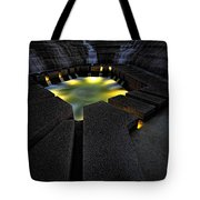 Fort Worth Water Garden Water Fall Tote Bag