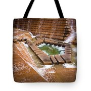 Fort Worth Water Gardens Tote Bag