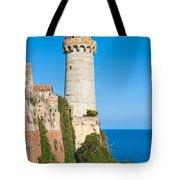 Forte Stella Lighthouse - Portoferraio - Elba Island Tote Bag
