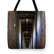 Fortified Covered Walkway Tote Bag