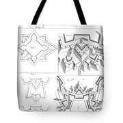 Fortress, 18th Century Tote Bag