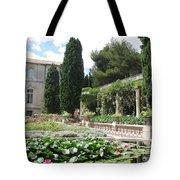 Fortress Garden  Villeneuve Les Avignon Tote Bag