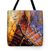 Fortress Steps Tote Bag