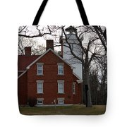 Forty Mile Point Lighthouse Tote Bag