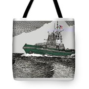 Foss Tractor Tugboat Tote Bag