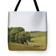 Fossil Prairie Panoramic 3 Tote Bag