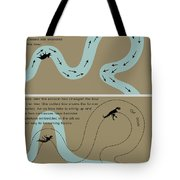 Fossil Preservation On A River Plain Tote Bag