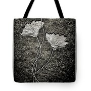 Fossilized Flowers Tote Bag