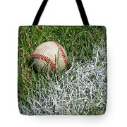 Foul Ball Tote Bag
