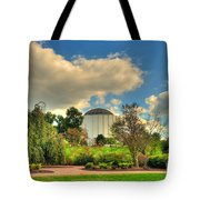 Founders Hall From The Garden Tote Bag