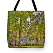 Founders Hall Portico Entrance Tote Bag