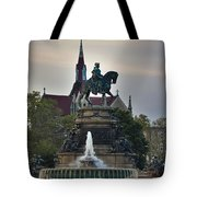 Fountain At Eakins Oval Tote Bag