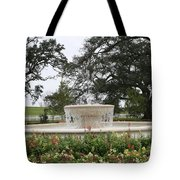 Fountain At Nottoway Tote Bag