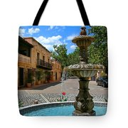 Fountain At Tlaquepaque Arts And Crafts Village Sedona Arizona Tote Bag