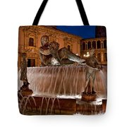 Fountain By Night Tote Bag