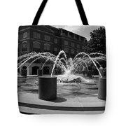 Fountain In Charleston Tote Bag