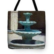 Fountain In Ecija Tote Bag