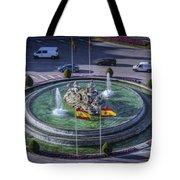 Fountain Of Cebeles II Tote Bag