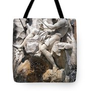 Fountain Of Four Rivers Tote Bag