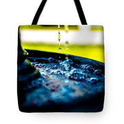 Fountain Of Time Tote Bag