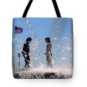 Fountain Of Youth Tote Bag by Karen Wiles