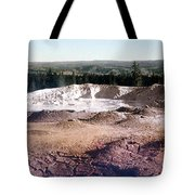 Fountain Paint Pot Yellowstone National Park Tote Bag