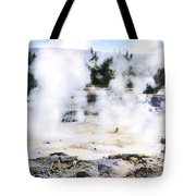 Fountain Paint Pot Yellowstone Np Tote Bag