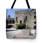Fountain  - Rhodos City Tote Bag