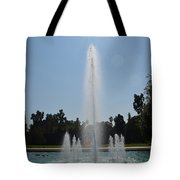 Fountain - Los Angeles County Arboretum And Botanic Garden Tote Bag
