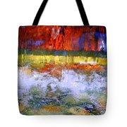 Fountain Splash Tote Bag