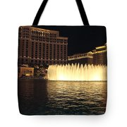 Fountain Vegas Tote Bag
