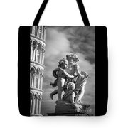 Fountain With Angels Tote Bag