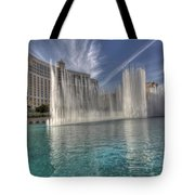 Fountains Of Paradise Tote Bag