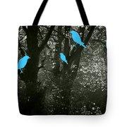 Four Birds Tote Bag