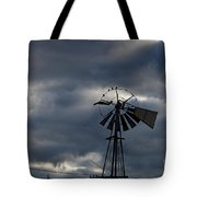Four Birds On The Circle Tote Bag