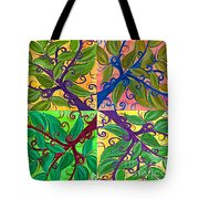 Four Branches By Jrr Tote Bag
