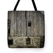 Four Broken Windows Tote Bag by Joan Carroll