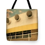 Four By Sea Vintage North Shore Yacht Club Salton Sea Tote Bag