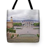 Four Columns And Magic Fountain Tote Bag