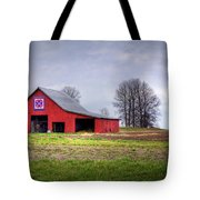 Four Corners Quilt Barn Tote Bag