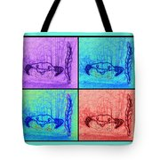 Four Crabs Under The Sea Tote Bag