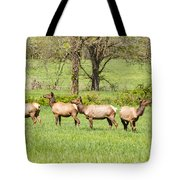 Four Elk Tote Bag