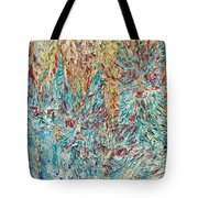 Four Expressionist Cats Tote Bag