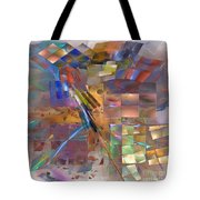 Four Eyes - Square Version Tote Bag